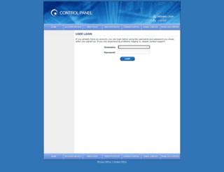 controlpanel.cc screenshot