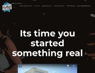 controlresults.com screenshot