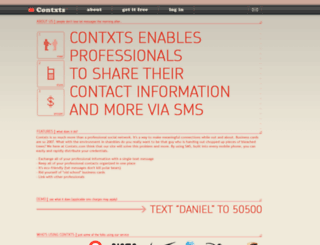 contxts.com screenshot