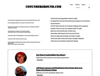 conunderground.com screenshot