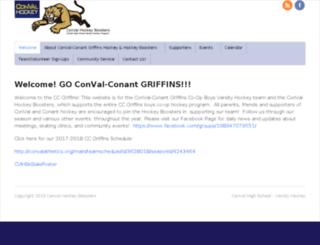 convalhockey.com screenshot