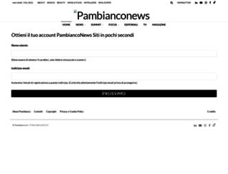 convegno.pambianconews.com screenshot