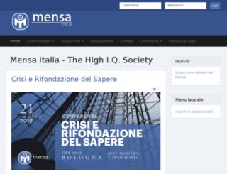 convegnotalento.mensa.it screenshot