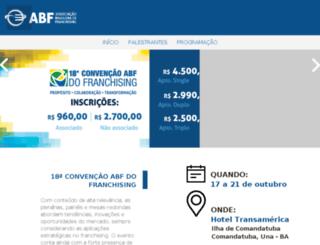 convencaoabf.com.br screenshot