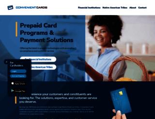 convenientcards.com screenshot