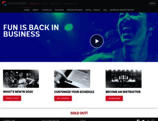 convention.zumba.com screenshot