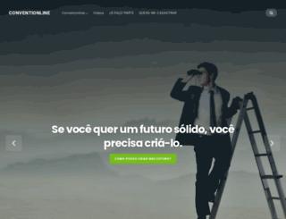 conventionline.com.br screenshot