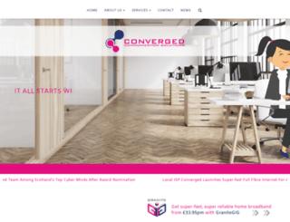 converged.co.uk screenshot