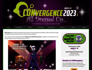 convergence-con.org screenshot