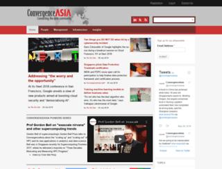convergenceasia.com screenshot