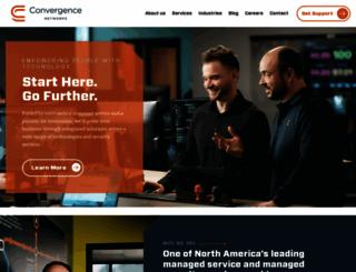 convergencenetworks.com screenshot