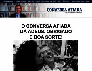 conversaafiada.com.br screenshot