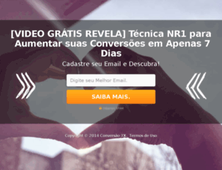 conversao3x.com.br screenshot