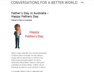 conversationsforabetterworld.com screenshot