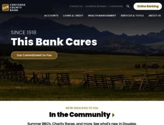 conversecountybank.com screenshot
