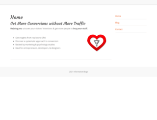 conversionlove.com screenshot