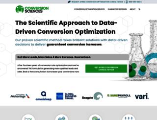 conversionscientist.com screenshot