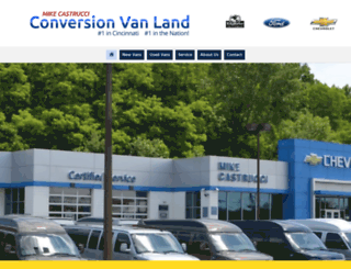 conversionvanland.com screenshot