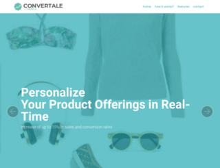 convertale.com screenshot