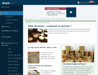 convertisseur.trader-forex.fr screenshot