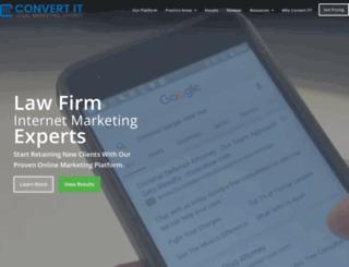 convertitmarketing.com screenshot