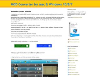 convertmodfiles.biz screenshot