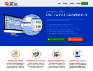 convertostpst.com screenshot