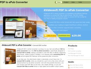 convertpdftoepub.us screenshot