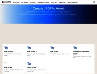 convertpdftoword.net screenshot