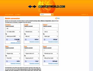 convertworld.com screenshot