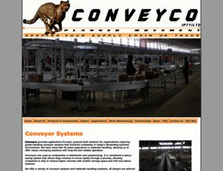 conveyco.co.za screenshot