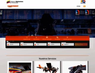 conviasa.aero screenshot