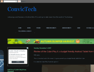 convictech.blogspot.gr screenshot