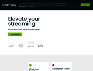 conviva.com screenshot