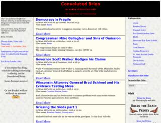 convolutedbrian.com screenshot