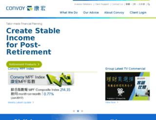 convoyfinancial.com screenshot
