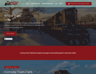 conwayscenic.com screenshot