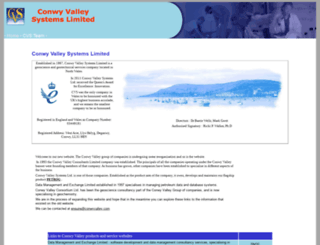 conwyvalley.com screenshot