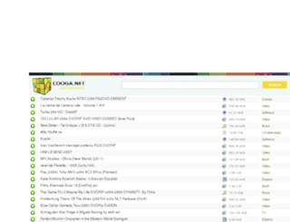 cooga.net screenshot