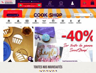cook-shop.fr screenshot