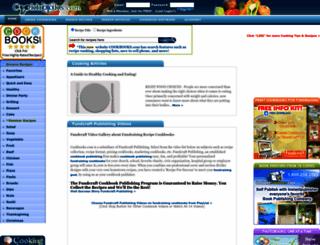 cookbooks.com screenshot