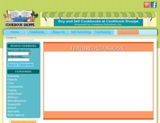 cookbookshoppe.com screenshot