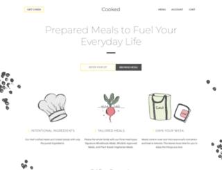 cookedchicago.com screenshot