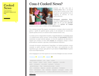 cookednews.wordpress.com screenshot