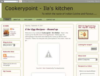 cookerypoint.blogspot.com screenshot