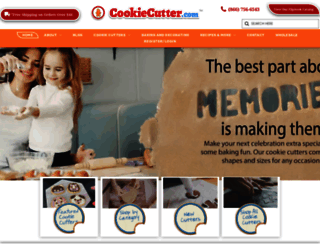 cookiecutter.com screenshot
