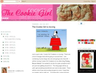 cookiegirlcreations.blogspot.com screenshot