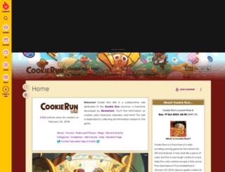 cookierun.wikia.com screenshot