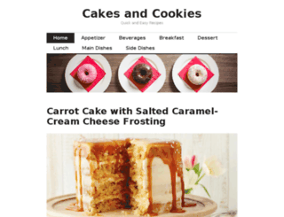 cookies-and-cakes.com screenshot