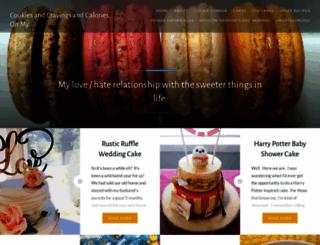 cookiescravingscalories.wordpress.com screenshot